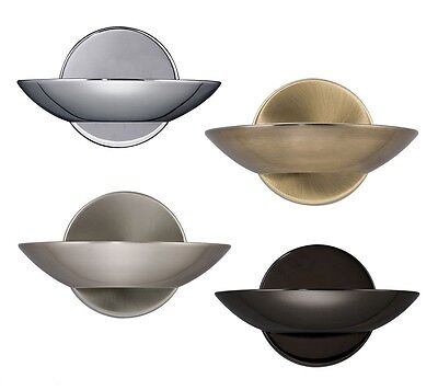 Searchlight Halogen Curved Wall Uplighter / Light - Choice Of Various Finishes