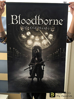 Bloodborne Maria Home Decor Poster Wall Scroll Painting  90*60cm