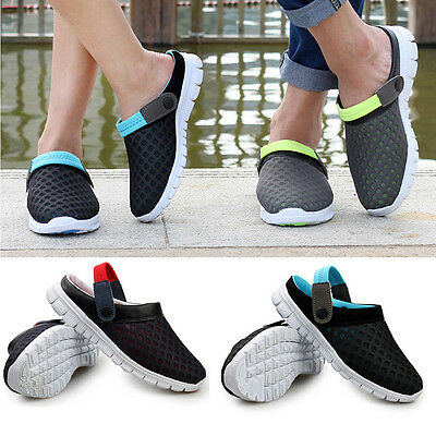 UK Stock Unisex Summer Breathable Sandals Beach Slipper Casual Sport Mesh Shoes