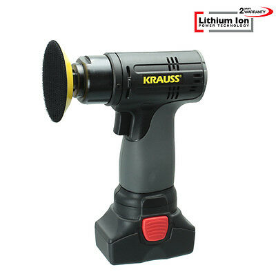 Lithium Ion Akku 14,4V/2,0Ah Mini Poliermaschine, Polisher, Auto Polierer RS201