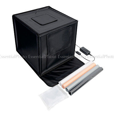 Portable Easy 70cm Foldable LED Light Tent Product Photography Photo Light Box