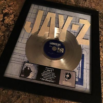 Jay Z Blueprint Platinum Record Disc Album Music Award MTV Grammy Beyonce RIAA