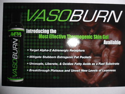 MPA VASOBURN Thermogenic Topical Skin Gel Fat Burner One (3.38 oz) Same Day Ship