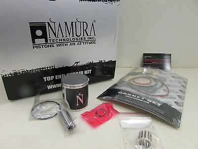 "Suzuki Rm 125 53.96Mm Namura Top End Rebuild Piston Kit ""b"" (Std Bore) 2004-2010"