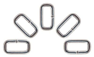 100 - Country Brook Design® 2.5cm Heavy Welded Rectangle Rings. Shipping Includ