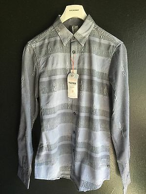 Jet Stream Ben Sherman Plectrum Stripe Shirt Regular Fit Size XS