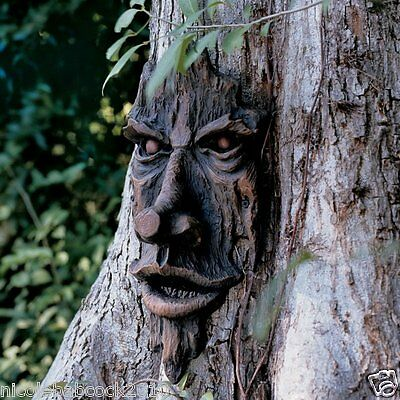 Halloween Evil Spirit Of The Forest Tree Prop Yard Decor