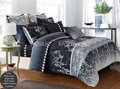 COSTA Super King Size Bed Duvet/Doona/Quilt Cover Set New