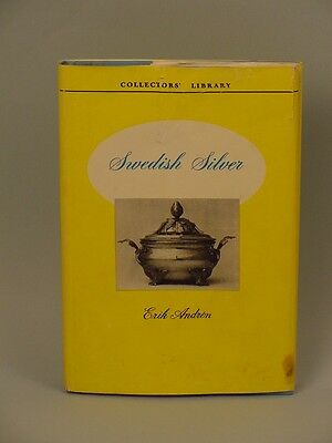 Book:  Swedish Silver by Erik Andren - 1950 Out of Print