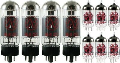 Tube Complement for Peavey 6505+ PLUS, JJ brand. Shipping is Free