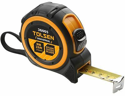 Tolsen Measuring Tape Professional Quality Guaranteed Mid Approved - Select Size