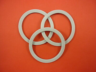 3 x Kenwood Multipro Food Processor Belnder Blade Rubber Seal for FP950 & FP920