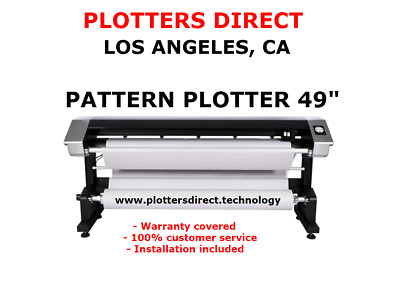 New Velocity Plotter for the apparel industry Gerber, Optitex, Lectra, PAD