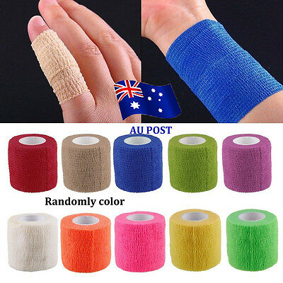 Kinesiology Self-Adhering Bandage Wraps Elastic Adhesive First Aid Tape StretchB