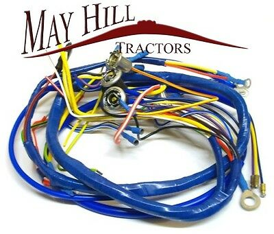 fordson dexta tractor wiring harness loom see wiring diagram rh picclick co uk Ford 5000 Tractor Wiring Harness Ford 3000 Tractor Wiring Harness Diagram