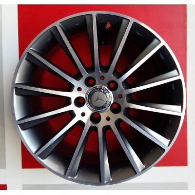 "F933/ad Kit 4 Cerchi In Lega 18"" Et35 Made In Italy Mercedes Classe E Amg 211"