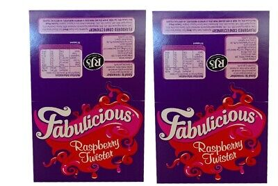 Wonka Fabulicious Raspberry Twister 2kg Box 180 Pieces Candy Buffet Party Favors