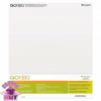 GO! BIG 36cm x 41cm Cutting Mat. Free Shipping
