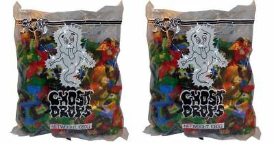 Bulk Lot 480 x Cosmic Ghost Drops 2 Bags Lollies Wrapped Candy Buffet Favors New