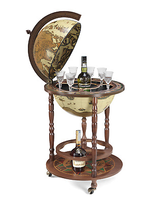 """Globe Bar Ivory *Made In Italy* 17"""" with Certificate of Authenticity"""