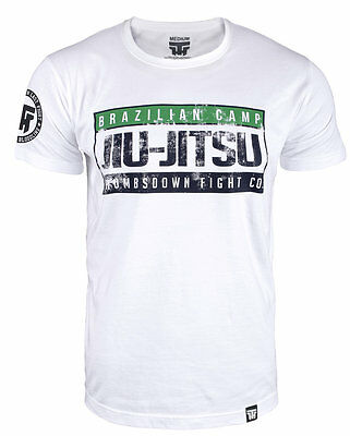 "T-Shirt Mma Brazilian Jiu Jitsu ""brazilian Camp Jiu Jitsu"" Training Casual Wears"