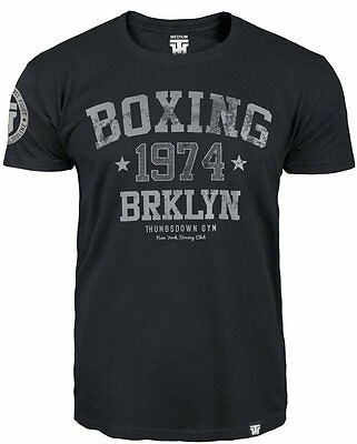 "T-Shirt Mma Boxing ""boxing 1974 Brooklyn Usa"" For Boxer Training Casual Wears"