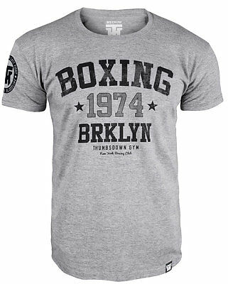 """T-Shirt Mma Boxing """"boxing 1974 Brooklyn Usa"""" For Boxer Training Casual Wears"""