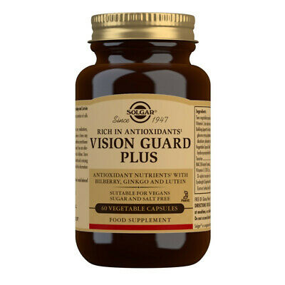 Solgar Vision Guard Plus Vegetable Capsules 60