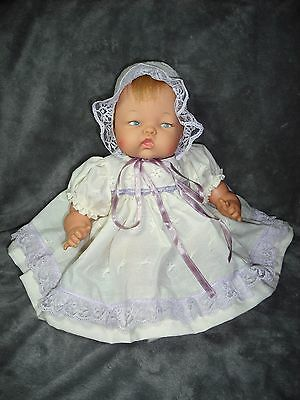 """NEW! Quality Made Dress Set For 14"""" Ideal Tiny Thumbelina Baby Doll By OTM"""