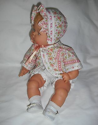 "NEW! Quality Made Cami Set For 14"" Ideal Tiny Thumbelina Baby Doll By OTM"