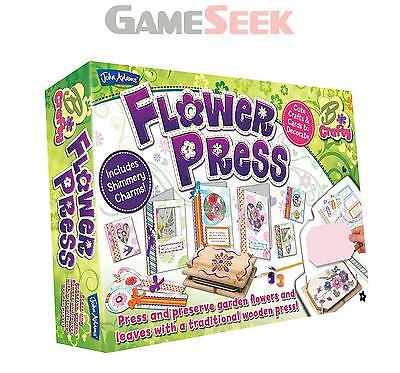 John Adams Flower Press - Toys/games Brand New Free Delivery