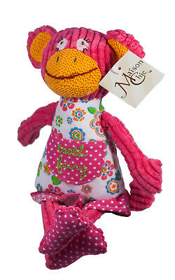 """Maison Chic Funny Monkey 9"""" Tooth Fairy, Plush Toy"""