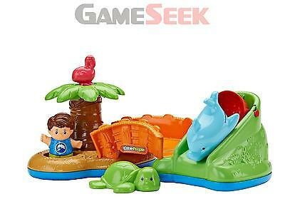 Fisher Price Little People Spill N Surprise Island - Dolls And Playsets New