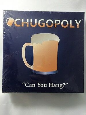 New Chugopoly Drinking Game Board Sealed Beer Drinking Game Adult