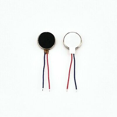 10 pieces New 10MM Coin Mini Pancake Cell Adhesive Vibration Micro Motor Flat A2