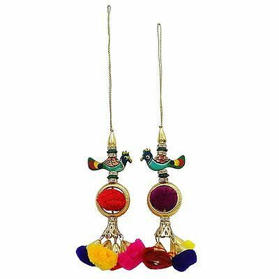 Craft Material Pom Pom Latkans Accessories Sewing Decorative Tassel By 1 Pair