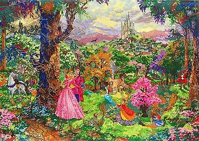 MCG Textiles 52508 Sleeping Beauty Cross Stitch Disney Dreams Collection Kit by