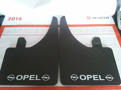 Universal Mudflaps Front Rear Opel Logo Astra Insignia Corsa  Mud Flap Guard NEW