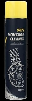 New Mannol Montage Cleaner 600ml 9672 Brake Cleaner Removes Oil and Grease
