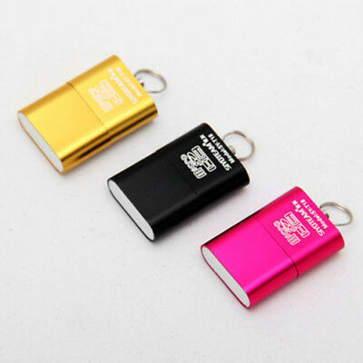 Mini Card Micro Kartenleser USB 2.0 Adapter Lesegerät Reader SD TF T-Flash SDHC