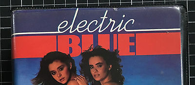 ELECTRIC BLUE #11 rare BETA not VHS Video Magazine R rated Kitten Natividad