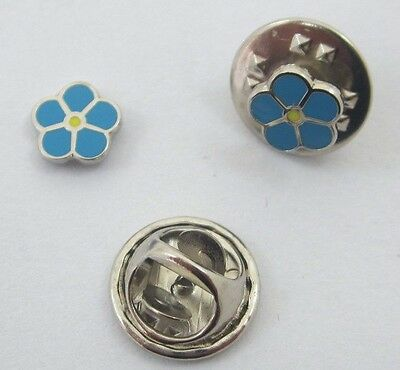 Freemasons Forget-Me-Not Lapel Pin
