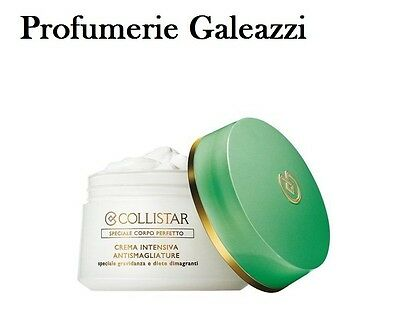 COLLISTAR CREMA INTENSIVA ANTISMAGLIATURE SPECIALE CORPO PERFETTO - 400 ml