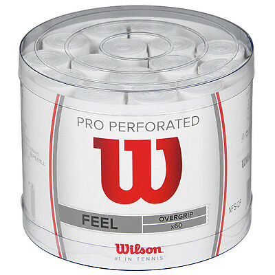Wilson Pro Over Grip Perforated Tennis Badminton Squash Wilson Best Selling Grip