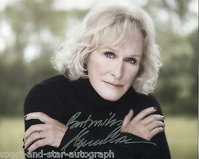 Glenn Close SIGNED AUTOGRAPH Damages AFTAL UACC RD