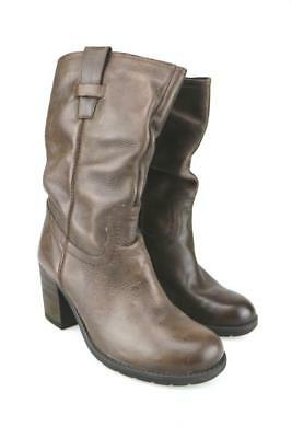 f2878e7aae4 CHAUSSURES BOTTES MARRONS cuir femme taille 39 - EUR 10