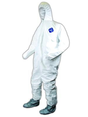 DuPont Tyvek CVWHB11 Coveralls with Boots & Hood 3XL, 25/Case
