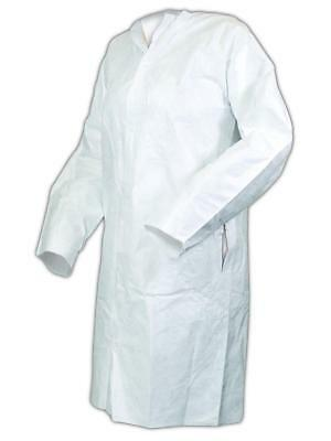 4 Pack DUPONT Collared Chemical Resistant Coveralls QC125TGY7X000400 Size 7XL