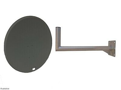100cm Mesh Satellite Dish With Wall Mount