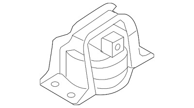Genuine 2009-2014 Nissan Cube Front Mount 11210-1FC0A